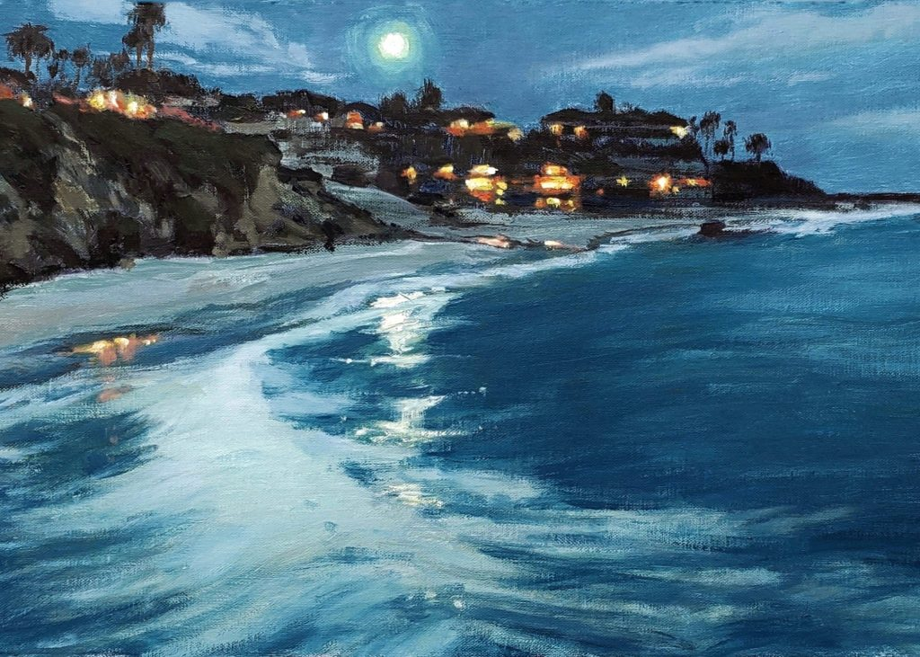 Blue Lagoon Moon